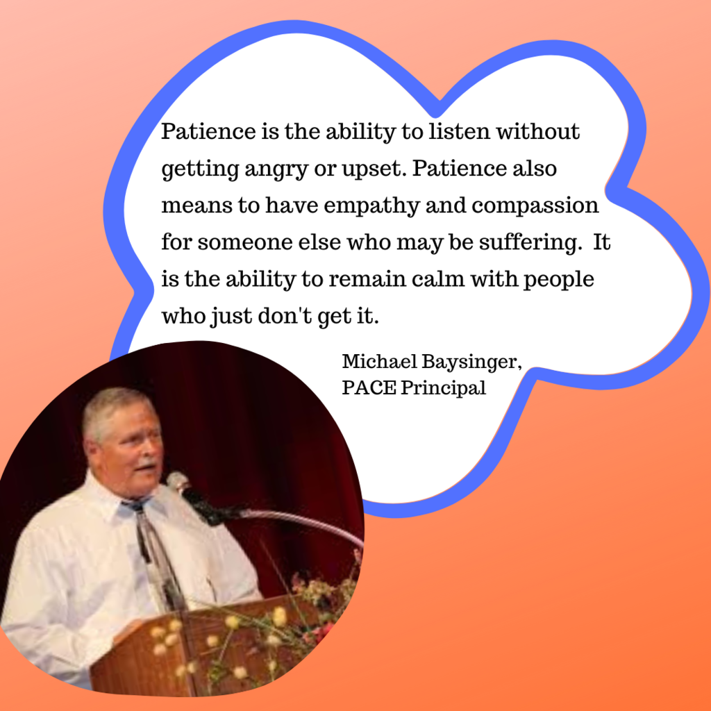 Baysinger Patience Definition