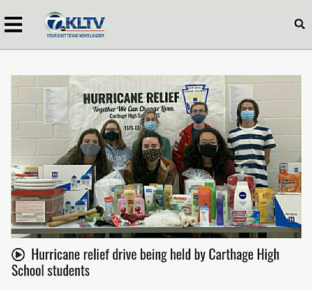 CHS NHS KLTV News