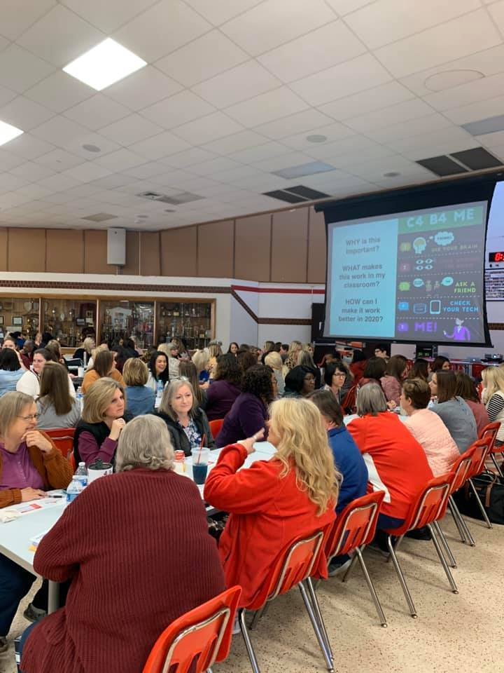 Carthage ISD Staff in Professional Development
