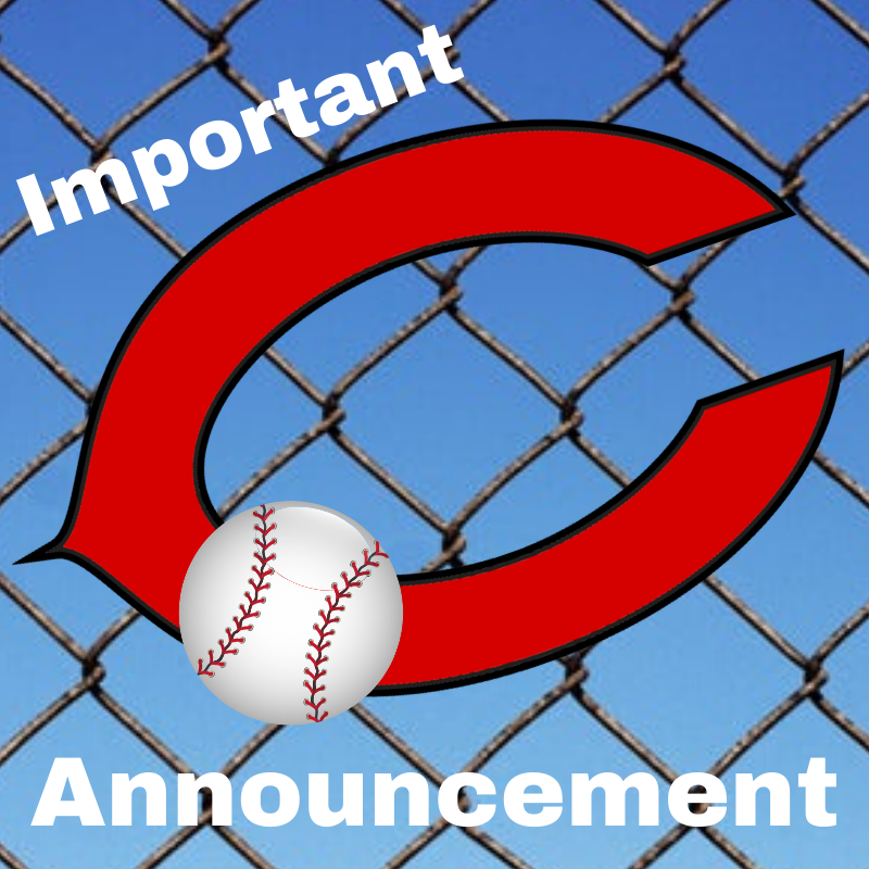Baseball Game for 02.11.2020 Cancelled