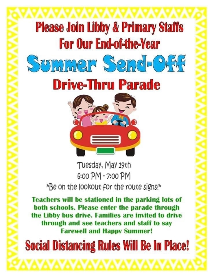 Join us in a Drive-Thru Parade!