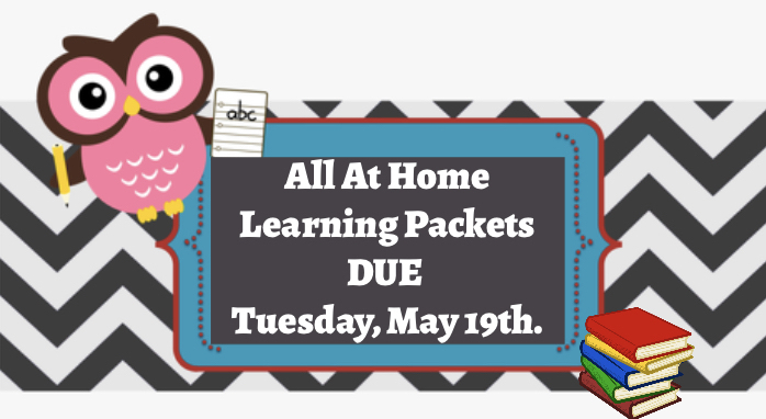 At Home Learning Packets