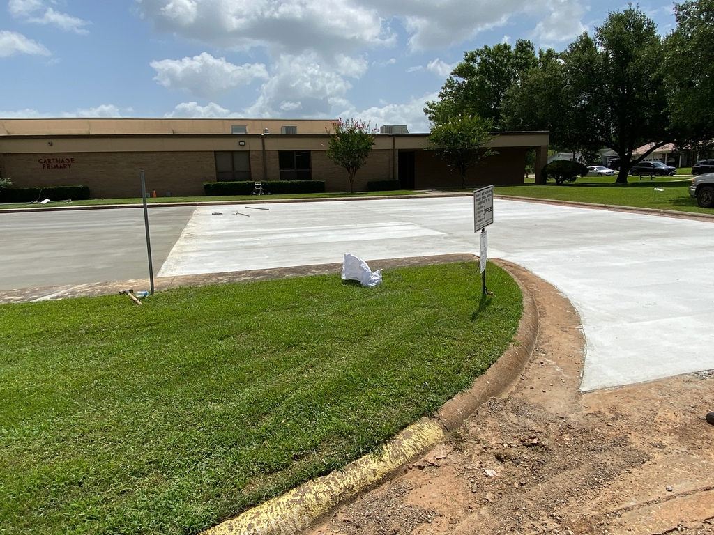 Carthage Primary parking lot project