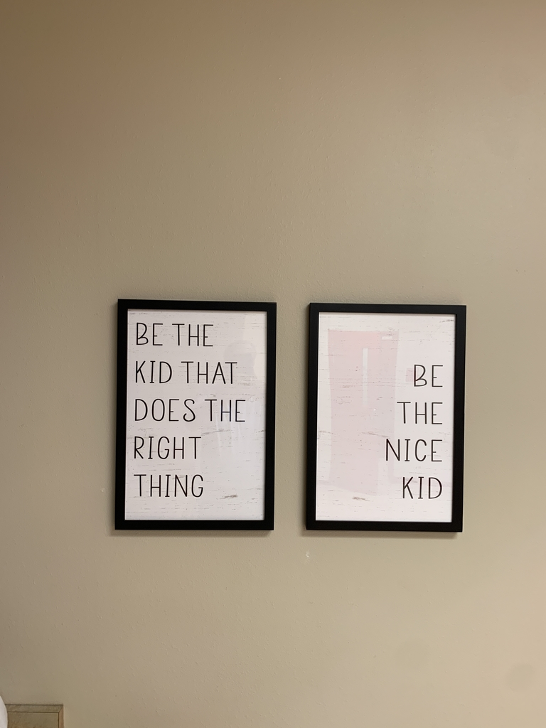 "2 Poster - ""Be the kid that does the right thing"". ""Be the nice kid"""