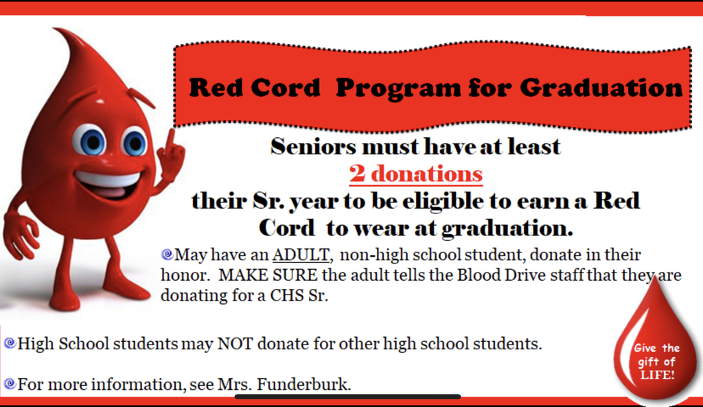 Red cord info