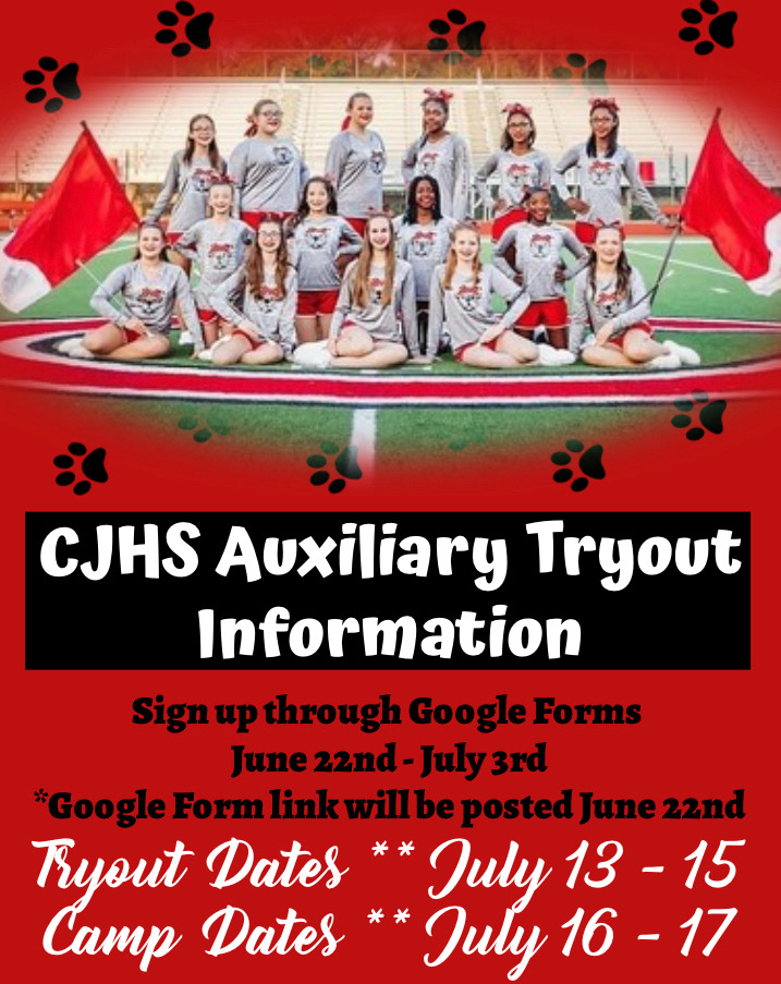 Auxiliary Tryout Information!